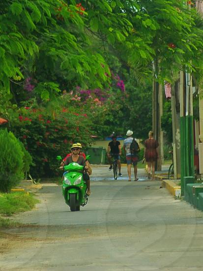 Street photographie in Playa Varadero Cuba photo