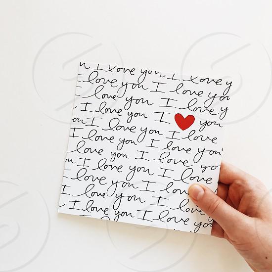 valentine's day love heart photo