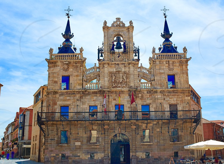 Astorga in Leon city town hall ayuntamiento photo