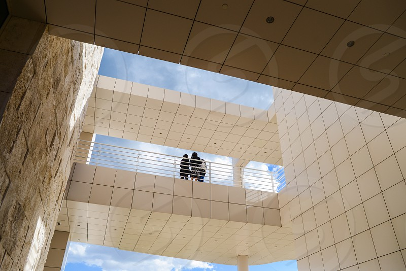 getty museum people architecture sky photo