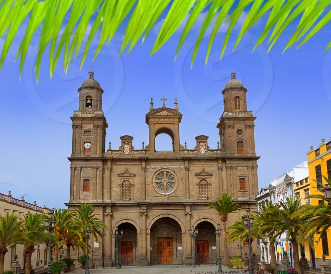 Cathedral of Santa Ana in Las Palmas de Gran Canaria photo