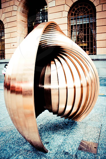 circle circles sculpture photo
