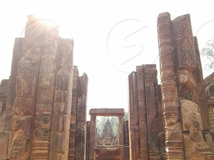 Bantesy Srei . Cambodia photo