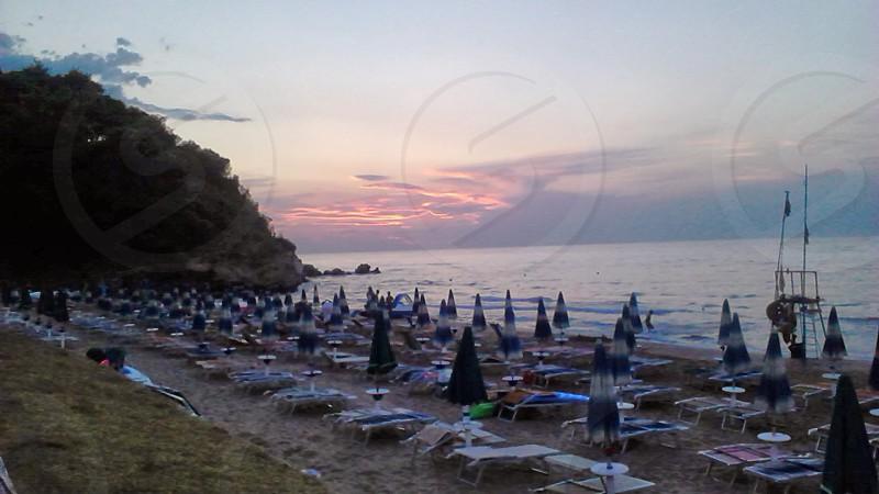 #sea mare #Italy Italia #Puglia #sunset tramonto baia calenella #summer estate #season photo