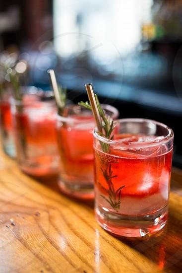 Summer cocktails photo