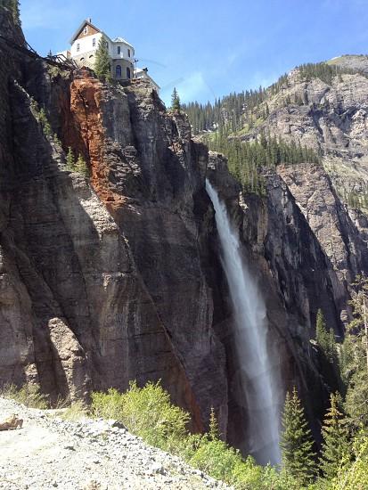 Bridal Veil Falls Telluride Colorado photo