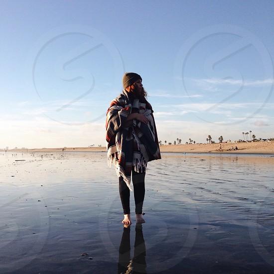 woman standing photo
