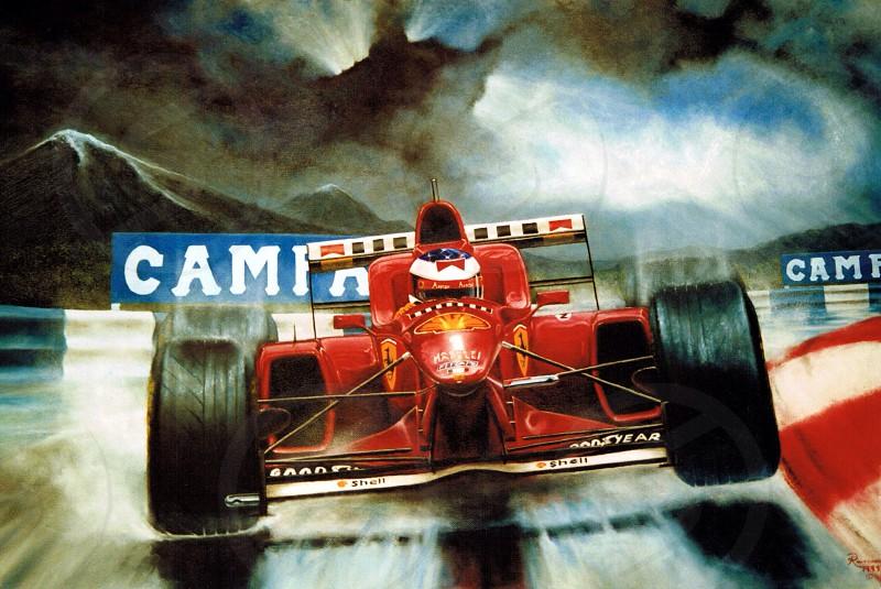 Schumacher oil photo