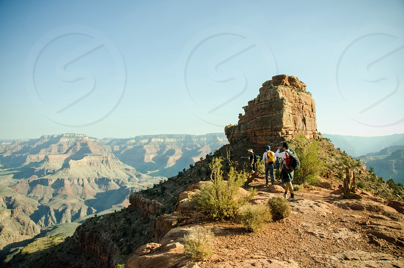 Simple clear thirds beautiful Grand Canyon  photo