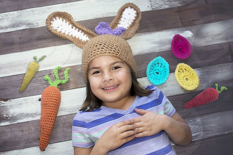 Crochet Easter Different Craft Spring Toddler 5 years photo