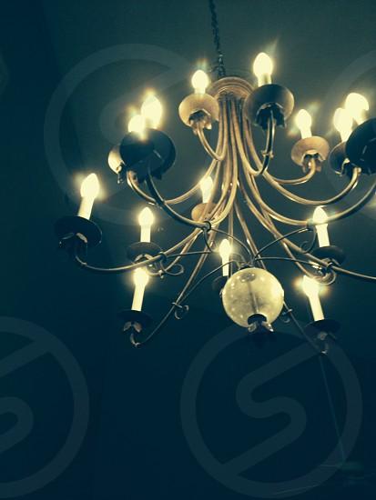 ~Beautiful vintage chandelier~ photo