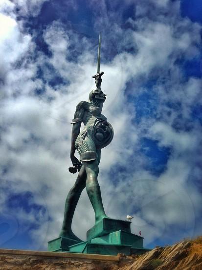 grey knight statue photo