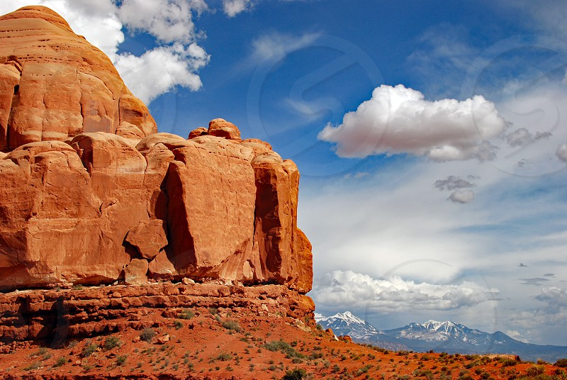 nature travel mountain sky photo