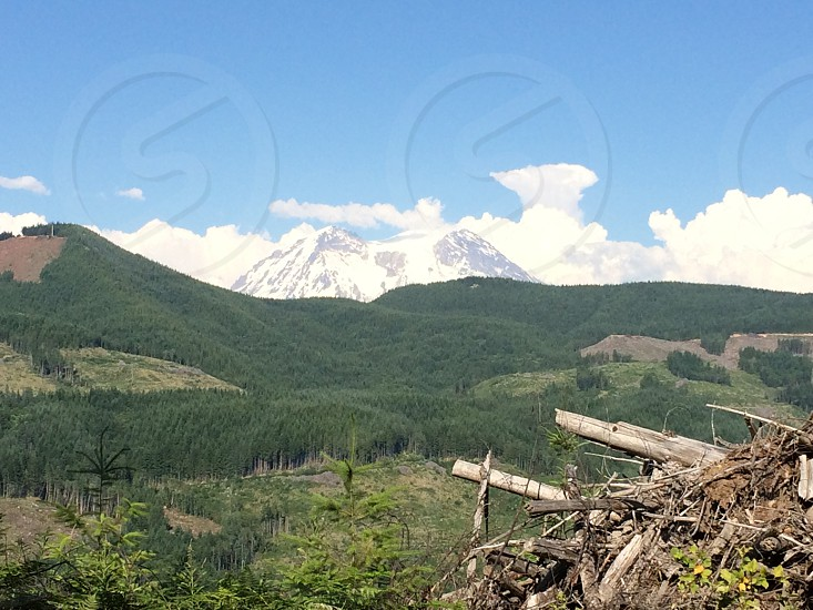 Mount Rainer Washington photo