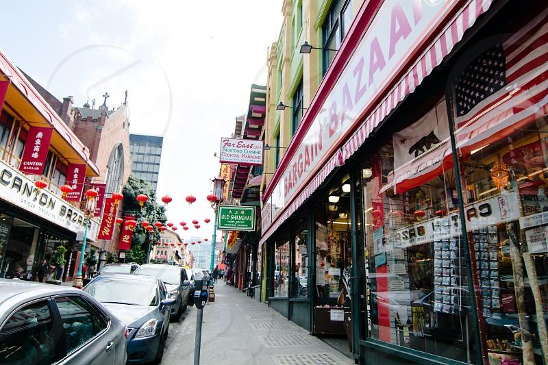 Chinatown street scene photo
