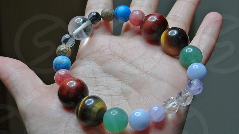 Power Stone bracelet in the motif planet photo