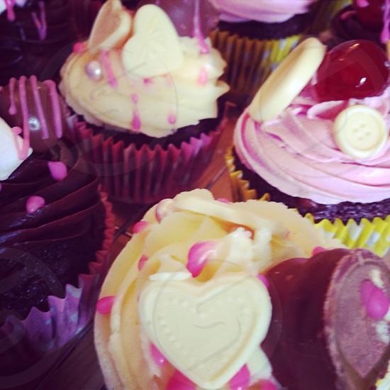 Cupcakes I made myself  photo