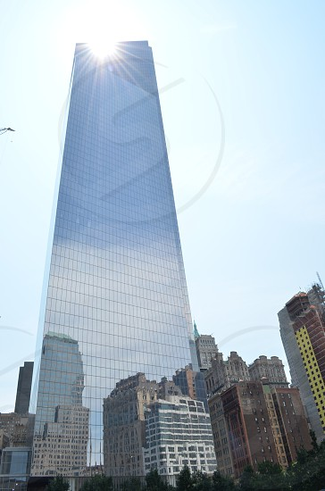 NYC New York Building Sun photo
