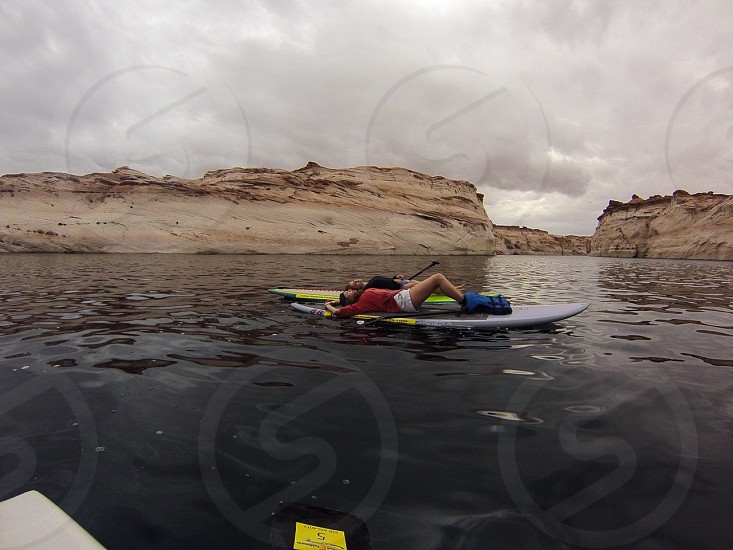 Beauty adventure GoPro lake Arizona photo