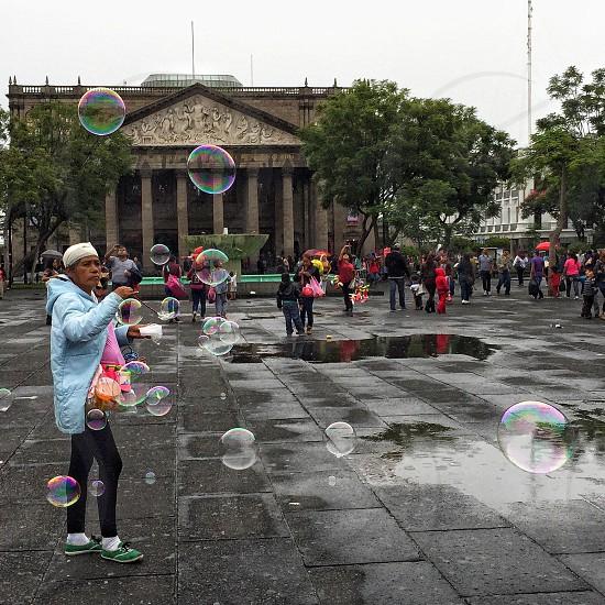 Burbujas bubbles arquitectura architecture teatro degollado theatre building guadalajara mexico photo