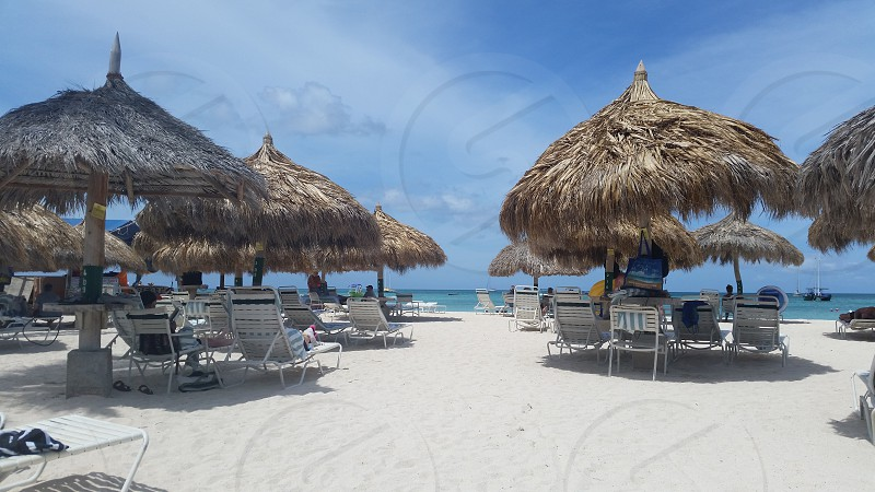 Day at Eagle Beach Aruba photo