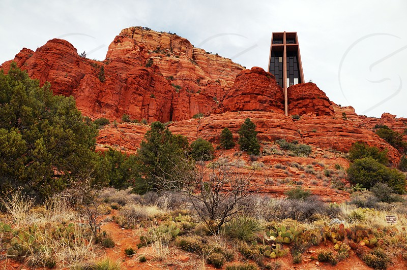 Chapel of the Holy Cross Sedona Arizona photo