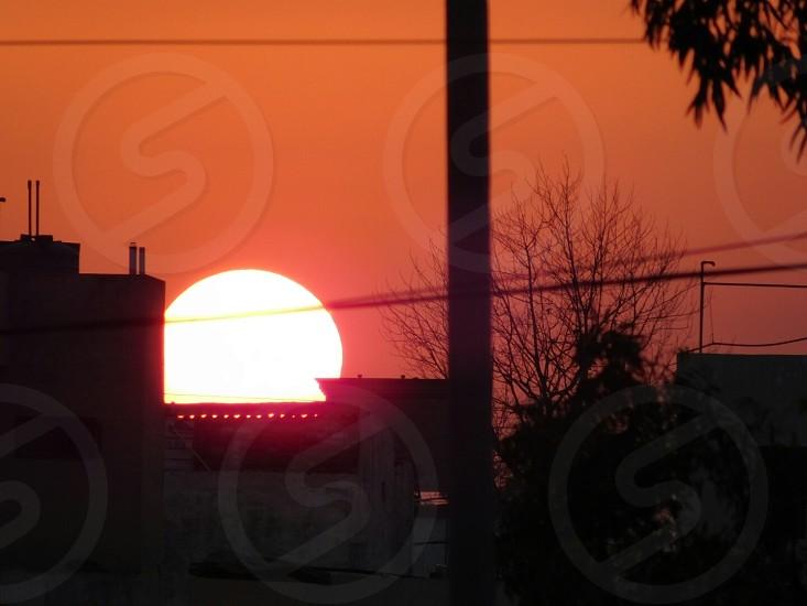 beauty of sunset photo