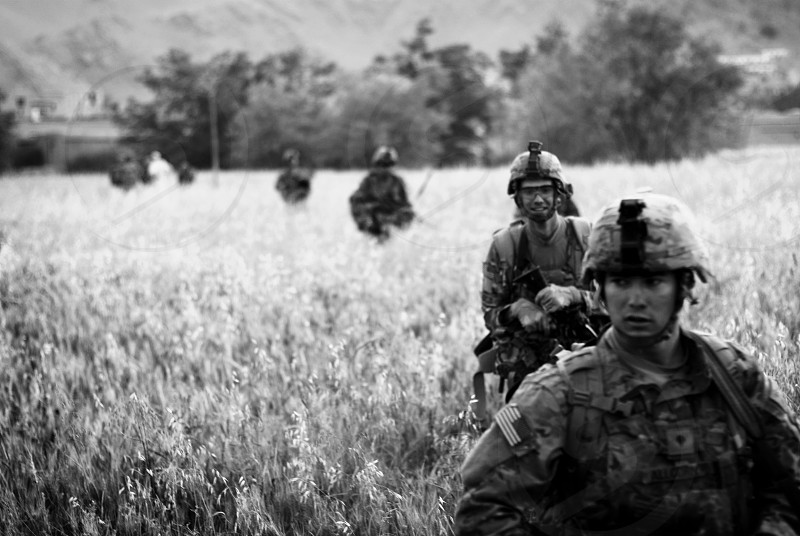 Military Army War Afghanistan Soldiers Veterans photo