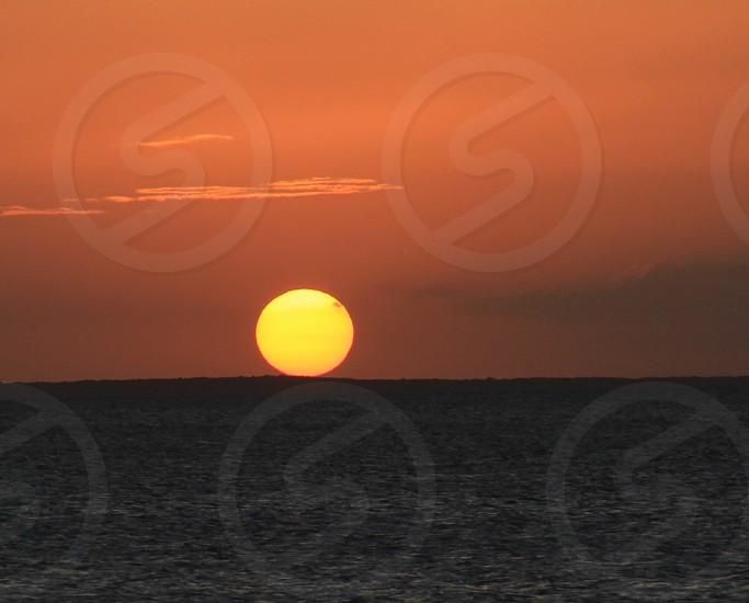 Sunset in Key Largo photo