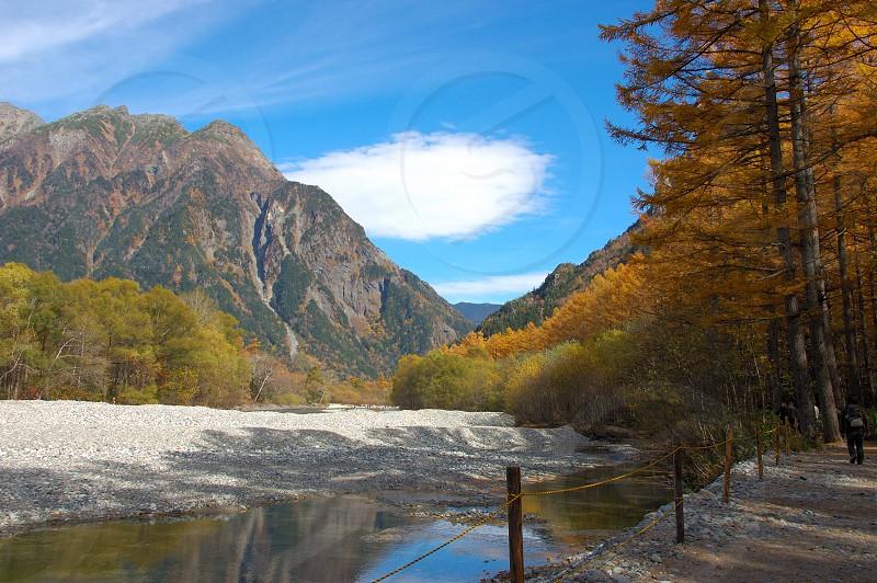 秋の上高地 photo