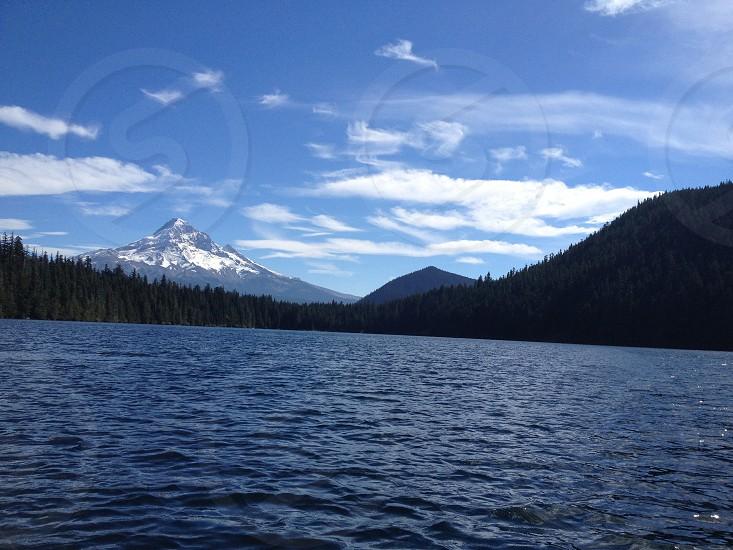 Lost Lake & Mt Hood photo