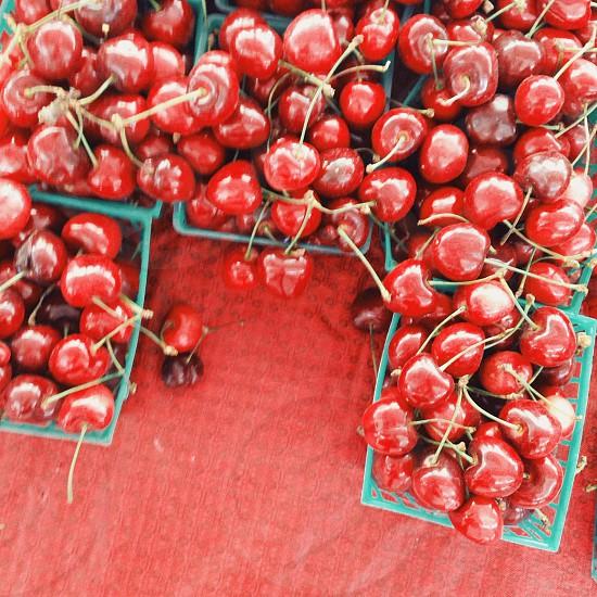 Summer cherries  photo