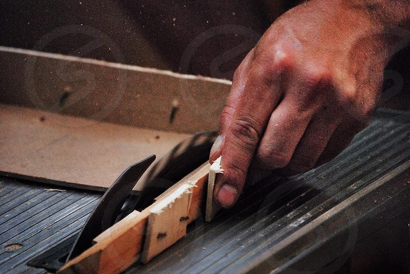 metal wood cutter photo