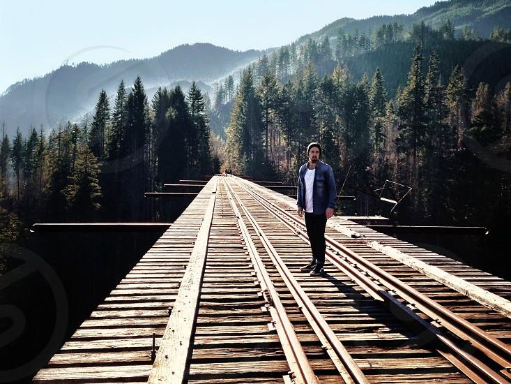 Vance Creek Bridge WA.  photo