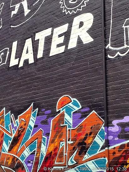 wall graffiti during daytime photo