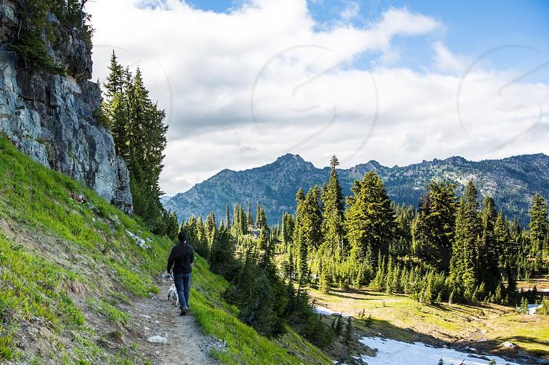 Mount Rainier Pacific Crest Trail Hike photo