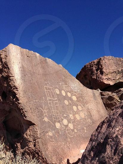 13 moons petroglyphs photo
