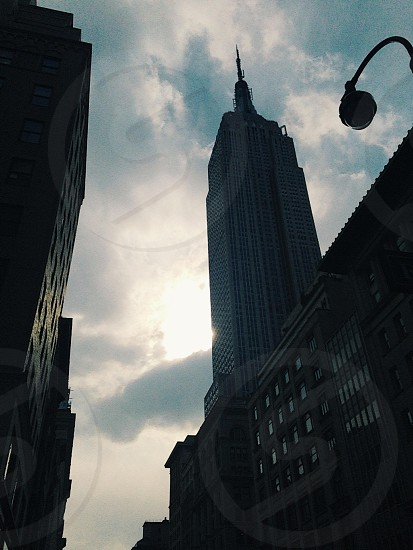 empire state building new york city photo