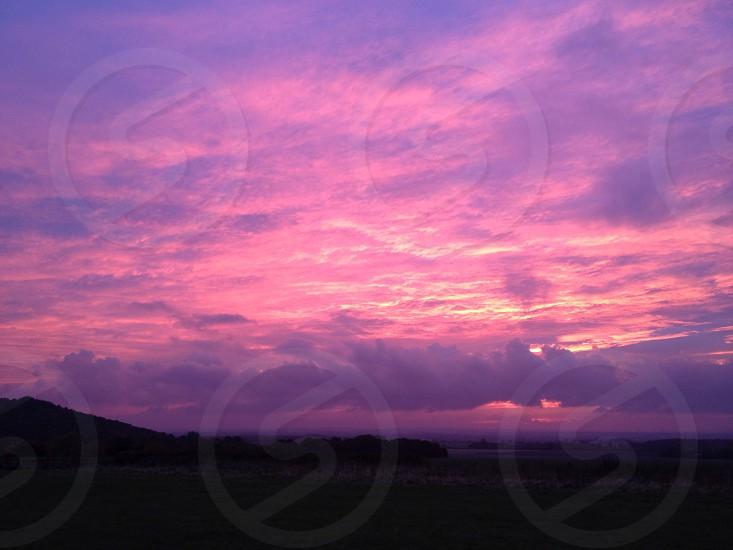 Evening sky photo