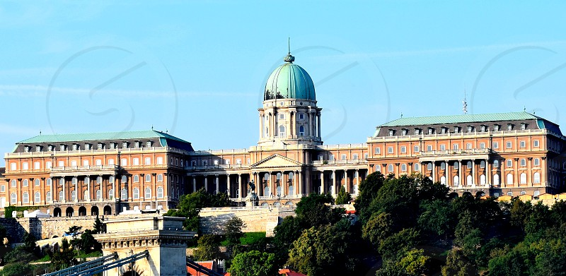 Hungarian National Gallery Budapest. Part of the Royal Castle. photo