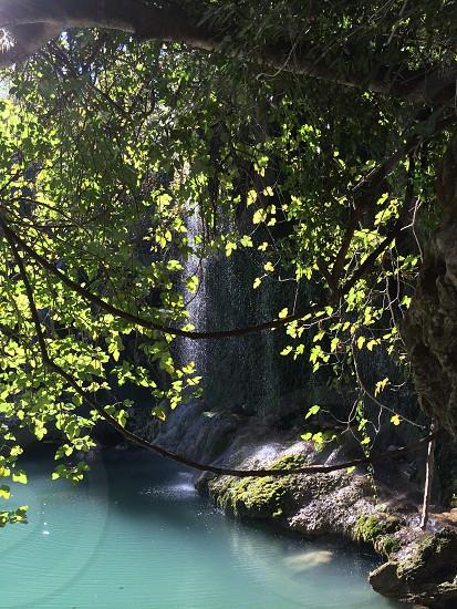 Turkish waterfall photo