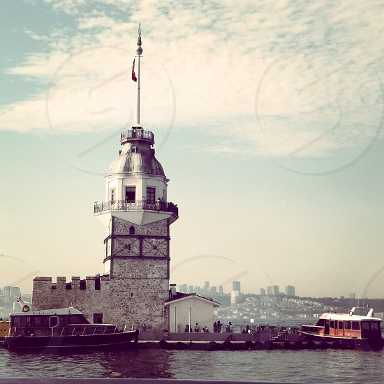İstanbul/Turkey old tower #sea #bosphorus photo