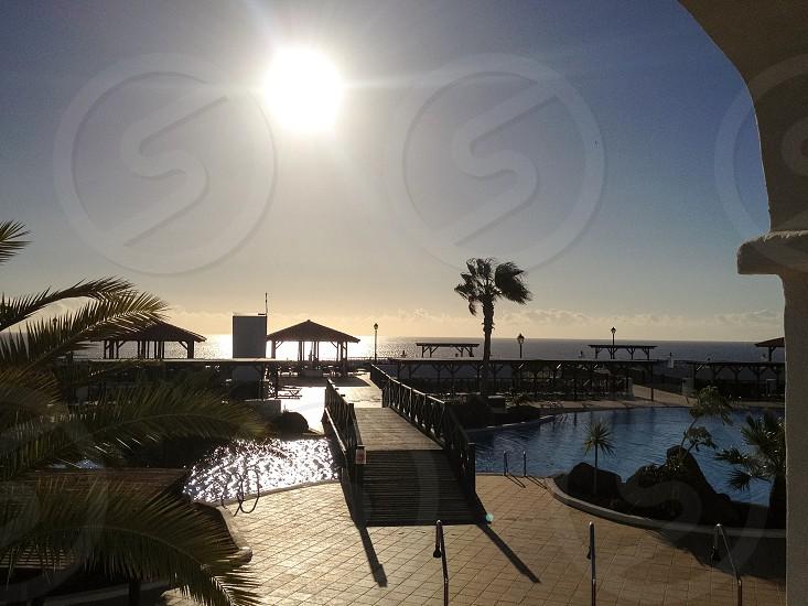 Holiday sun pool  photo