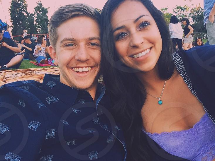Selfie with the boyfriend photo
