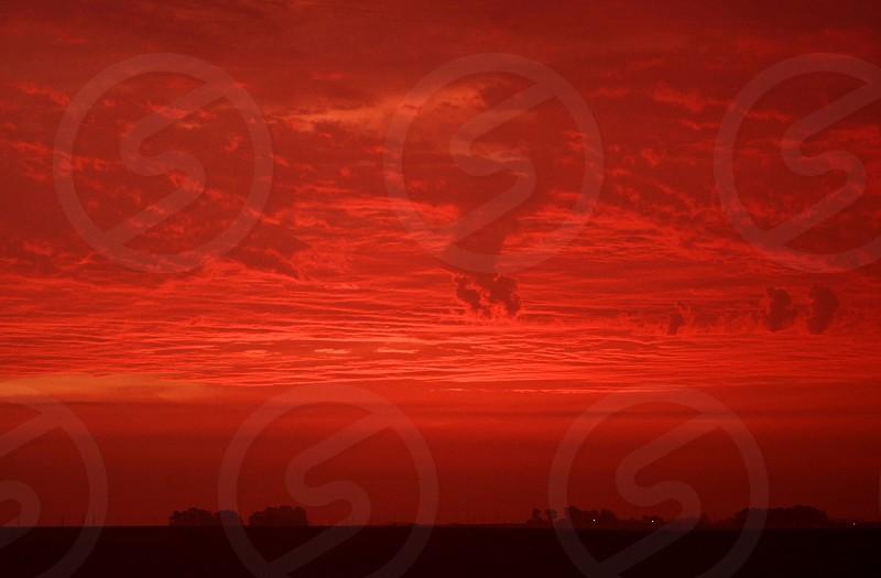 Red Sky Sunrise photo