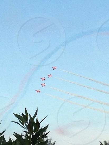 LisAm Air show planes sky fly photo