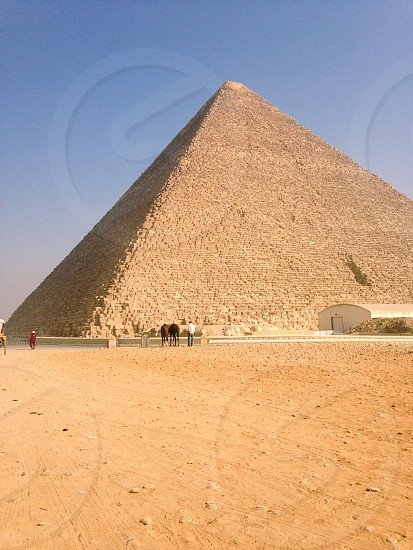 The Great Pyramid. Cairo Egypt photo
