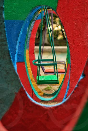 Colored concrete  photo