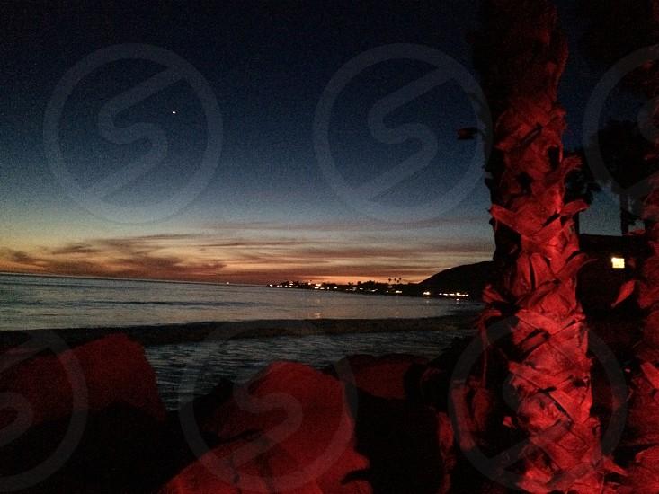 Pch at sunset photo