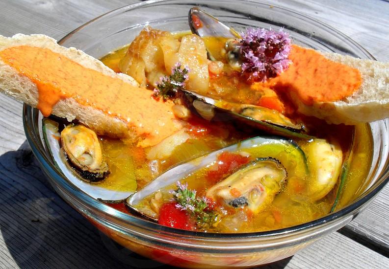 When in France - eat Bouillabaisse photo